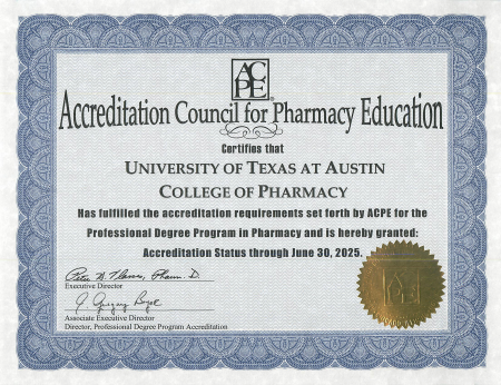 Picture of Pharmacy Accreditation
